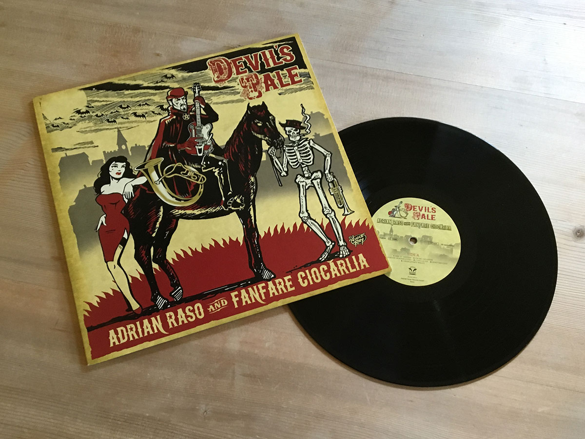 Adrian Raso and Franfare Ciocarlia - Devils Tale - Inhalt