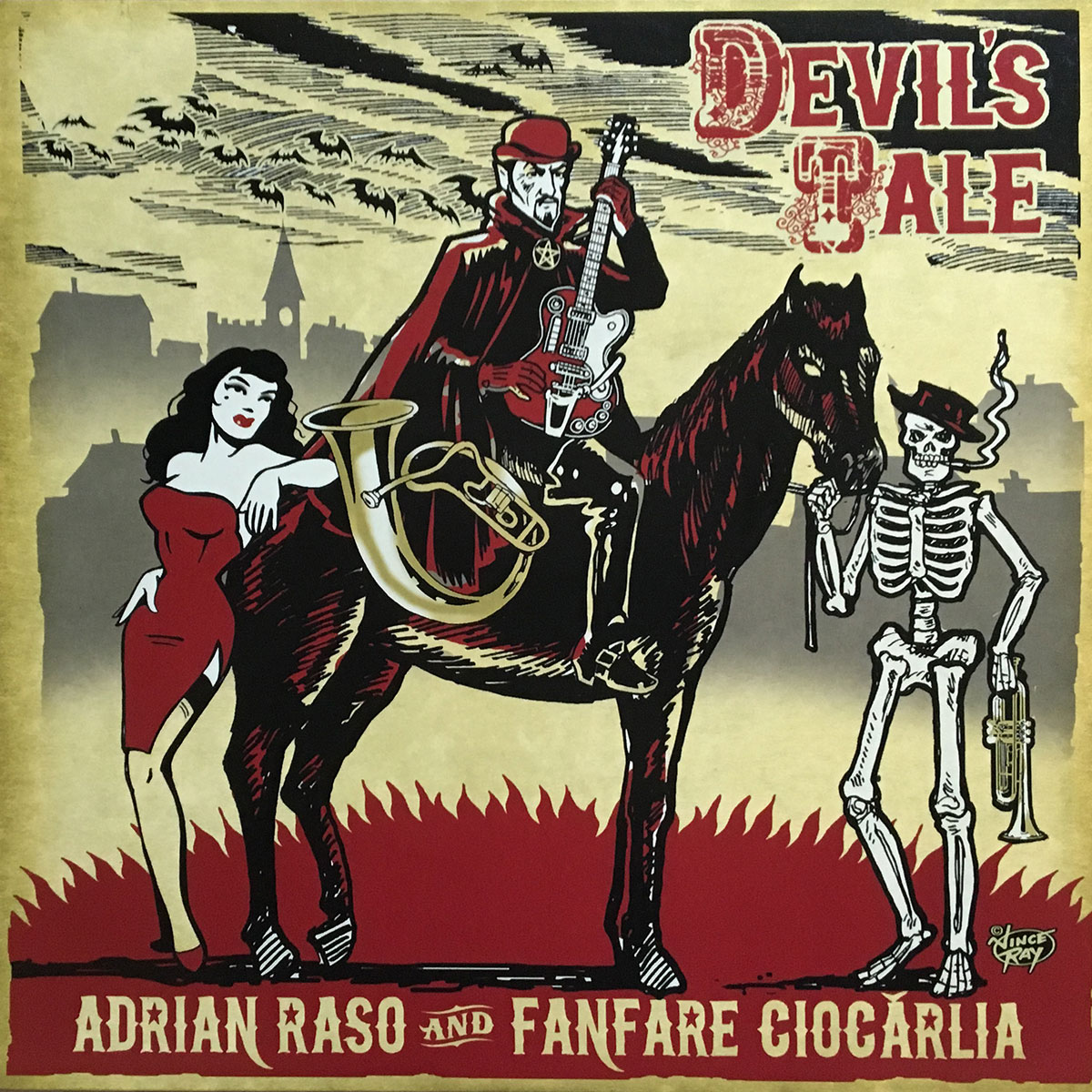 Adrian Raso and Franfare Ciocarlia - Devils Tale
