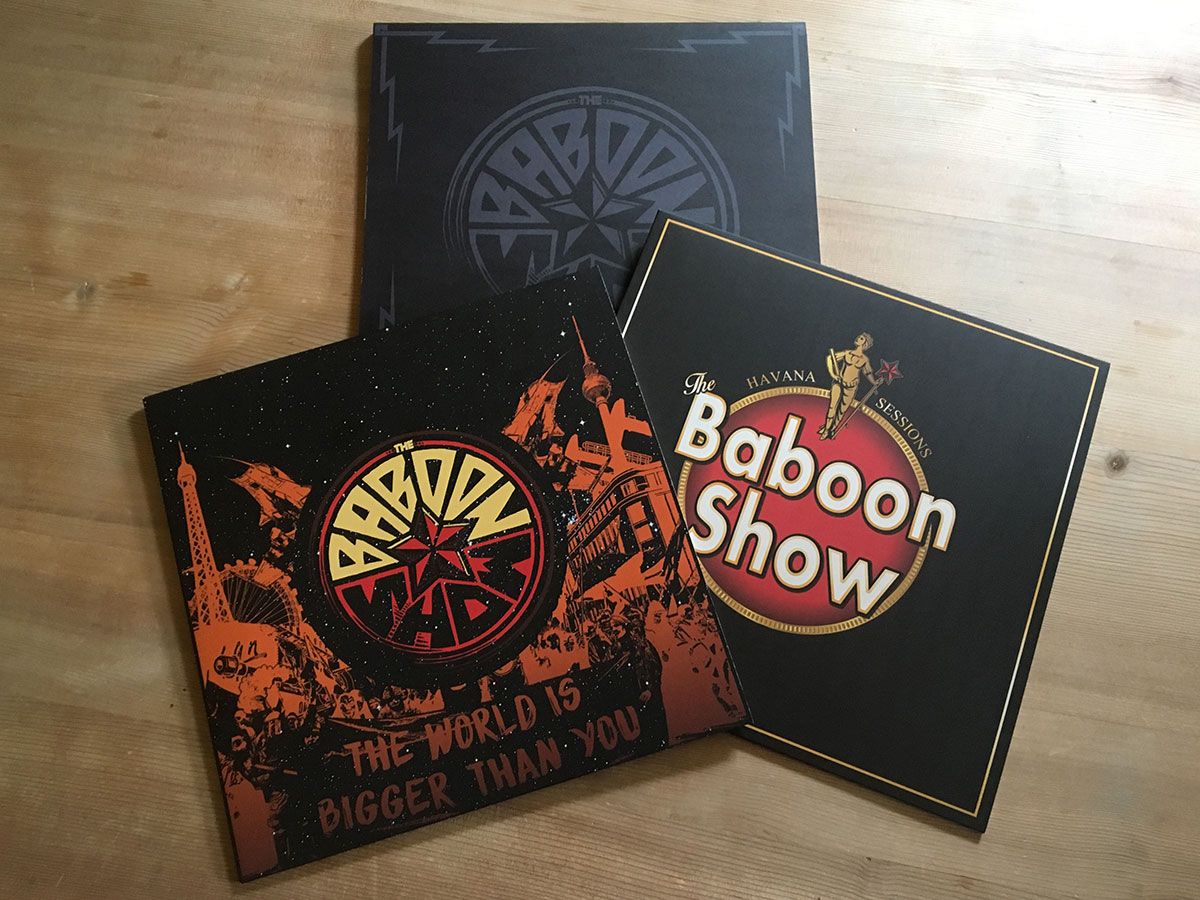 The Baboon Show - The World Is Bigger Than You - The Havanna Sessions - Inhalt