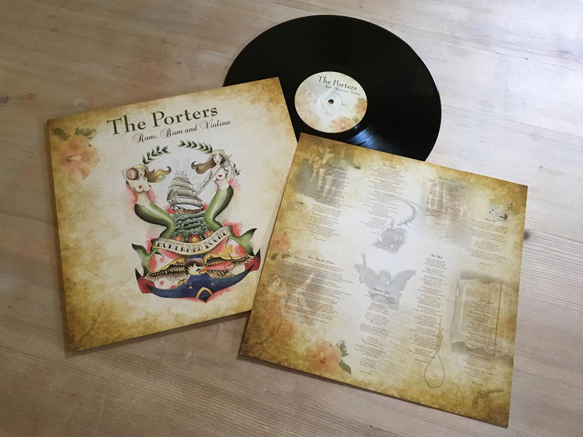 The Porters - Rum, Bum and Violina - Inhalt