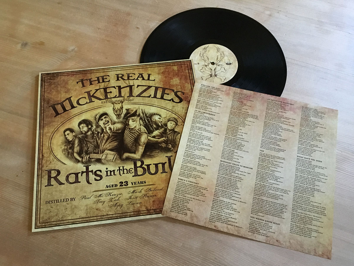 The Real McKenzies - Rats in the Burlap - Inhalt