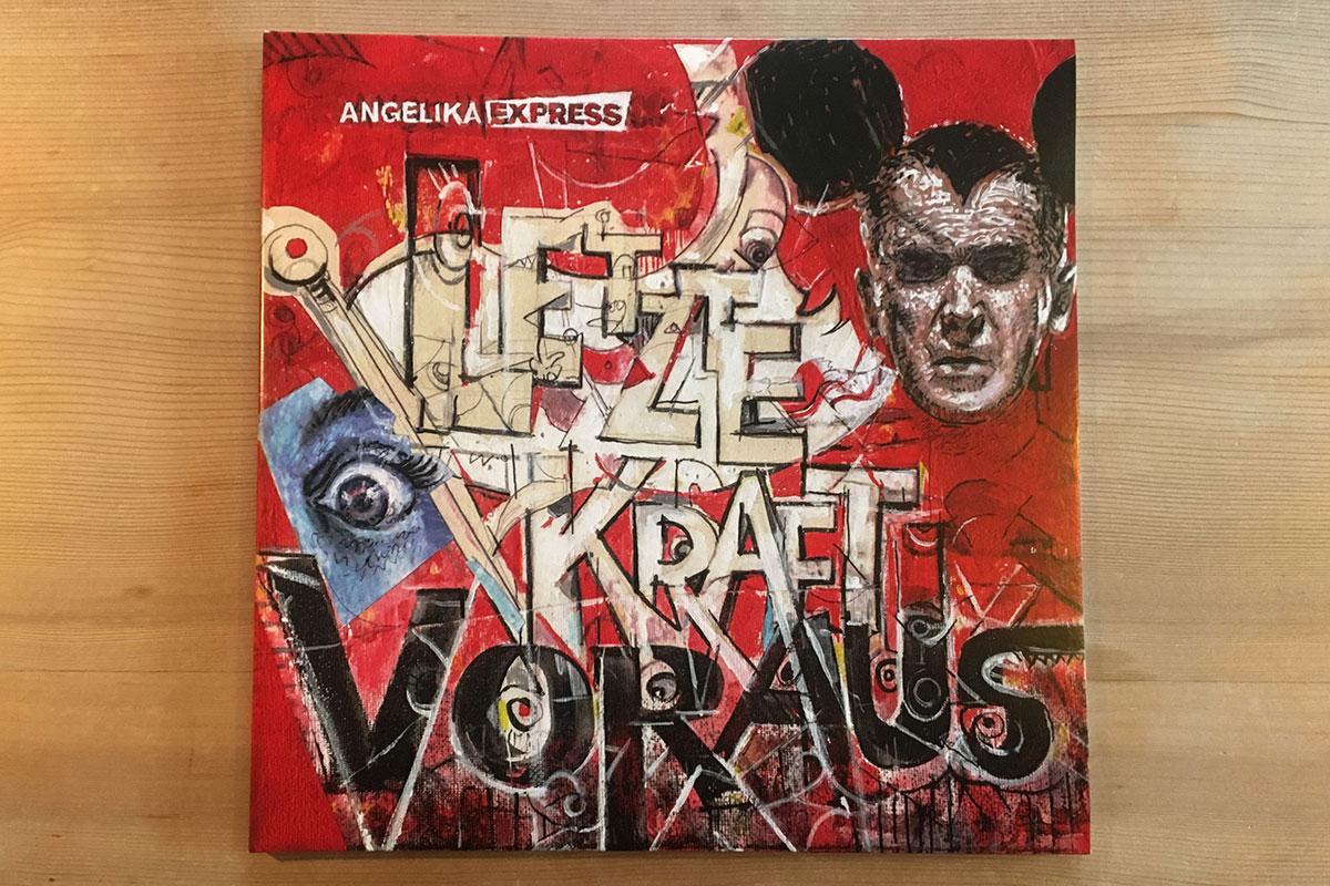 Angelika Express - Letzte Kraft voraus - Cover