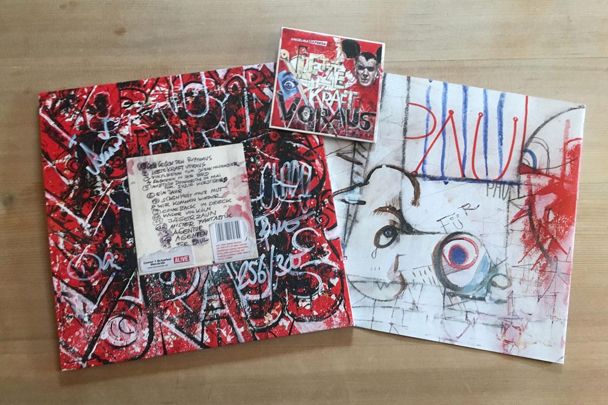 Angelika Express - Letzte Kraft voraus - mit Booklet und CD