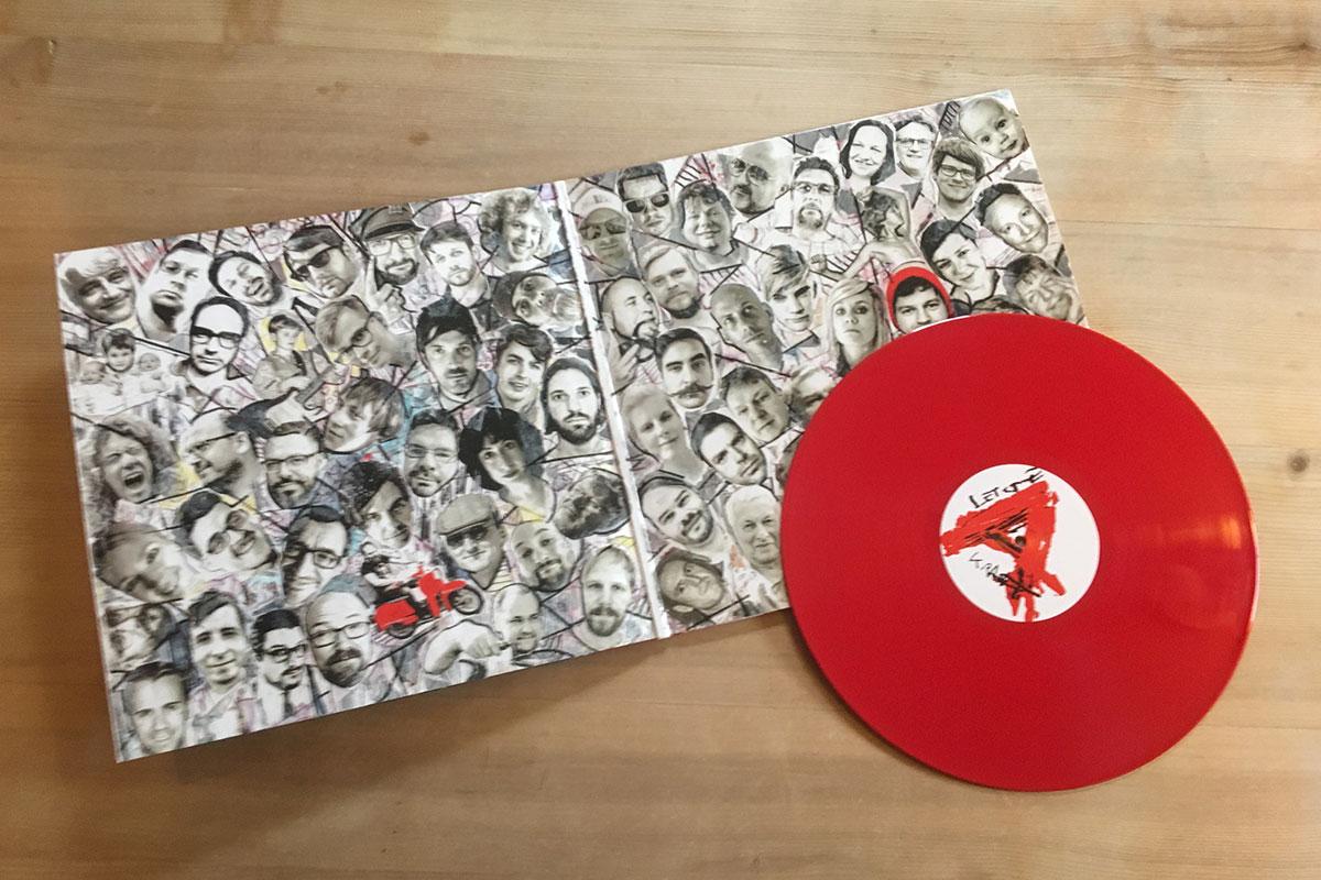 Angelika Express - Letzte Kraft voraus - rotes Vinyl