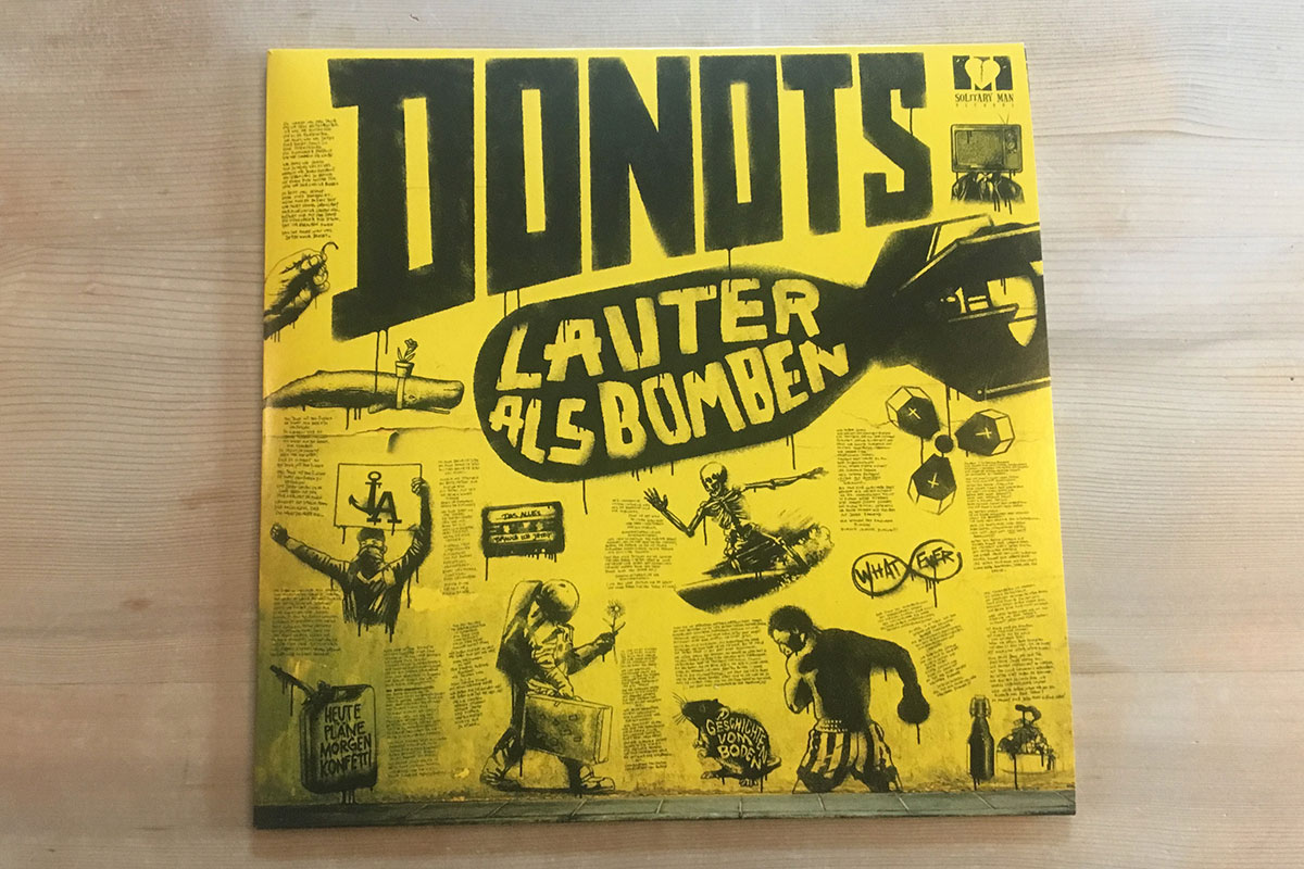 Donots - Lauter als Bomben - Cover