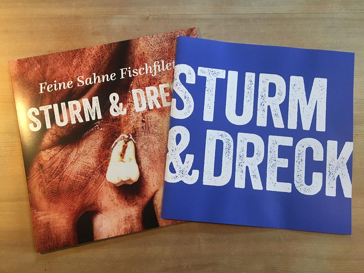 Feine Sahne Fischfilet - Sturm & Dreack - mit Booklet
