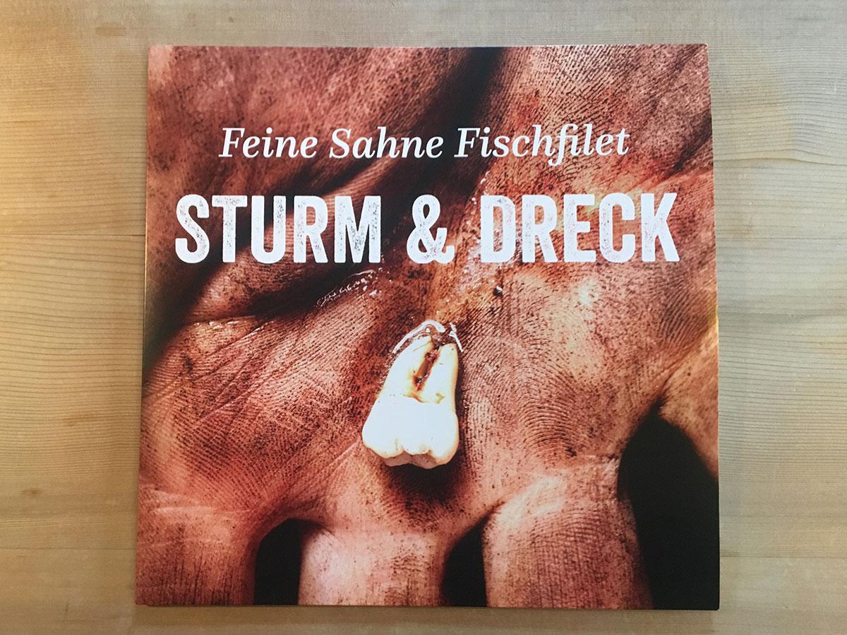 Feine Sahne Fischfilet - Sturm & Dreck - Cover