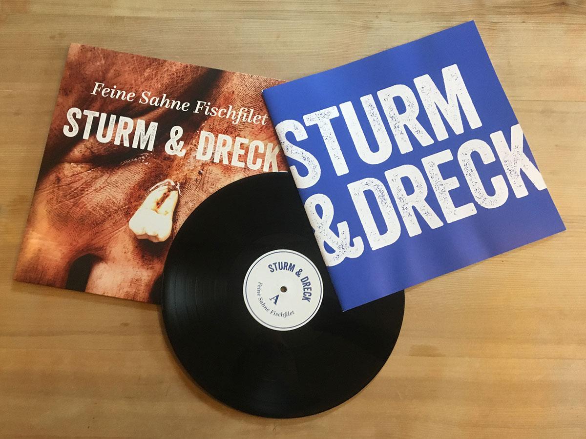 Feine Sahne Fischfilet - Sturm & Dreck - mit Booklet und LP
